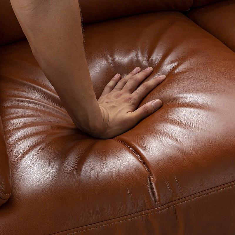 2.5人掛けソファ オーチャード�U TOー376E:座面のクッション性の秘密