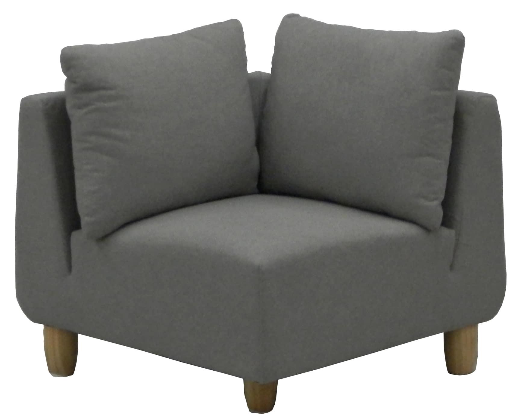 コーナーソファ リベルタ グレー:《座り心地抜群のソファー「リベルタ」》