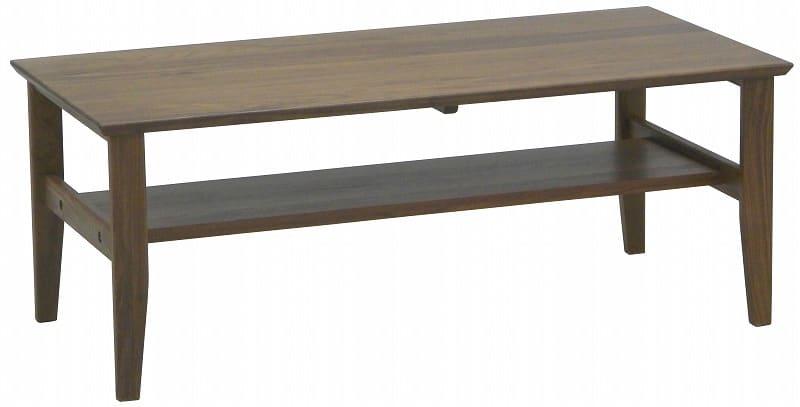 リビングテーブル コロンバ 105CT WN:リビングテーブル