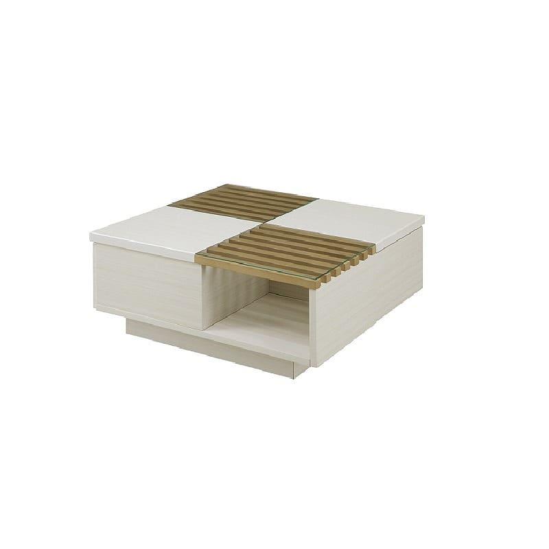 リビングテーブル ベリト 80 LBR:《モダンなデザインテーブル「ベリト」》