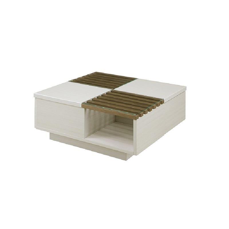 リビングテーブル ベリト 80 MBR:《モダンなデザインテーブル「ベリト」》