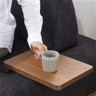サイドテーブル グラード テーブル長方 BR色