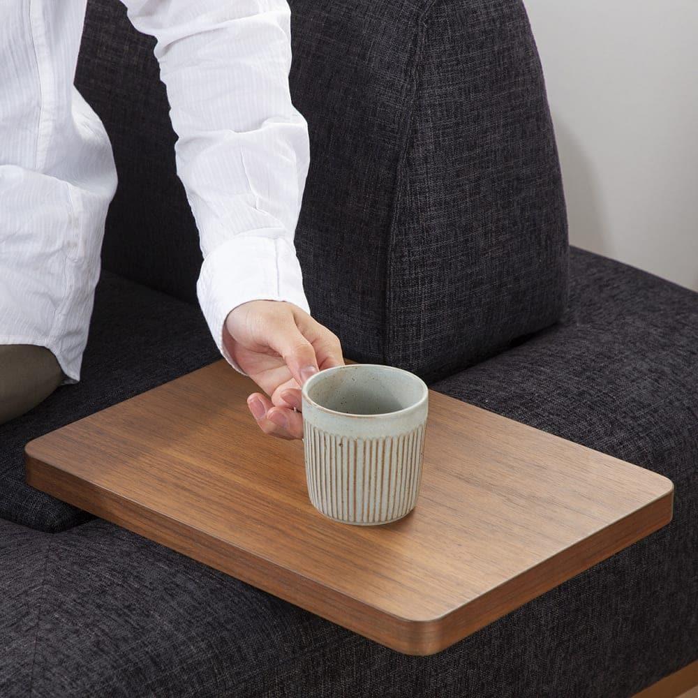 サイドテーブル グラード テーブル長方 BR色:【サイドテーブル単体商品です】その他商品は別売です