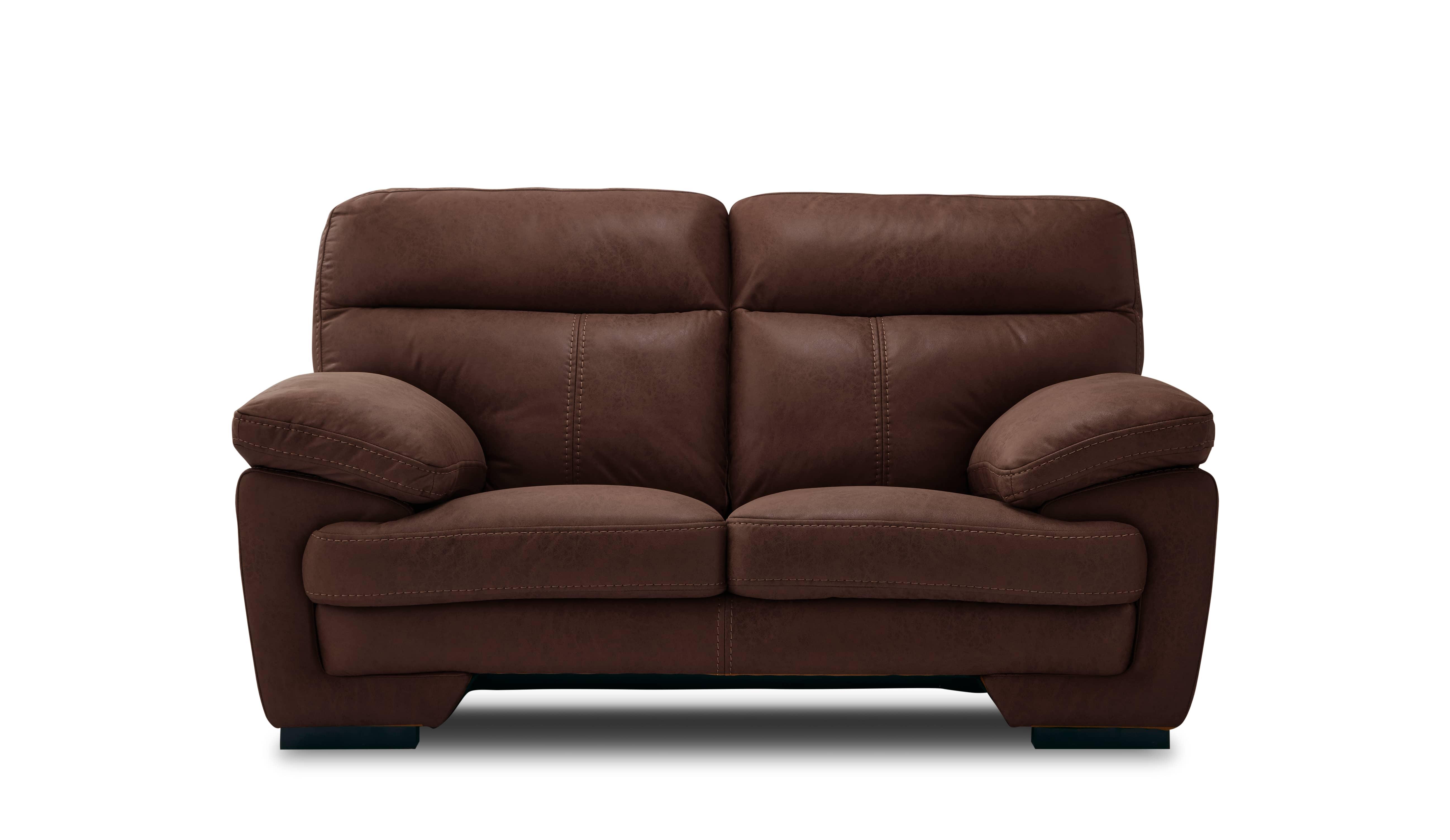 2人掛けソファー イゾラ カカオ:◆新素材「レザーテックス」を使用したソファー