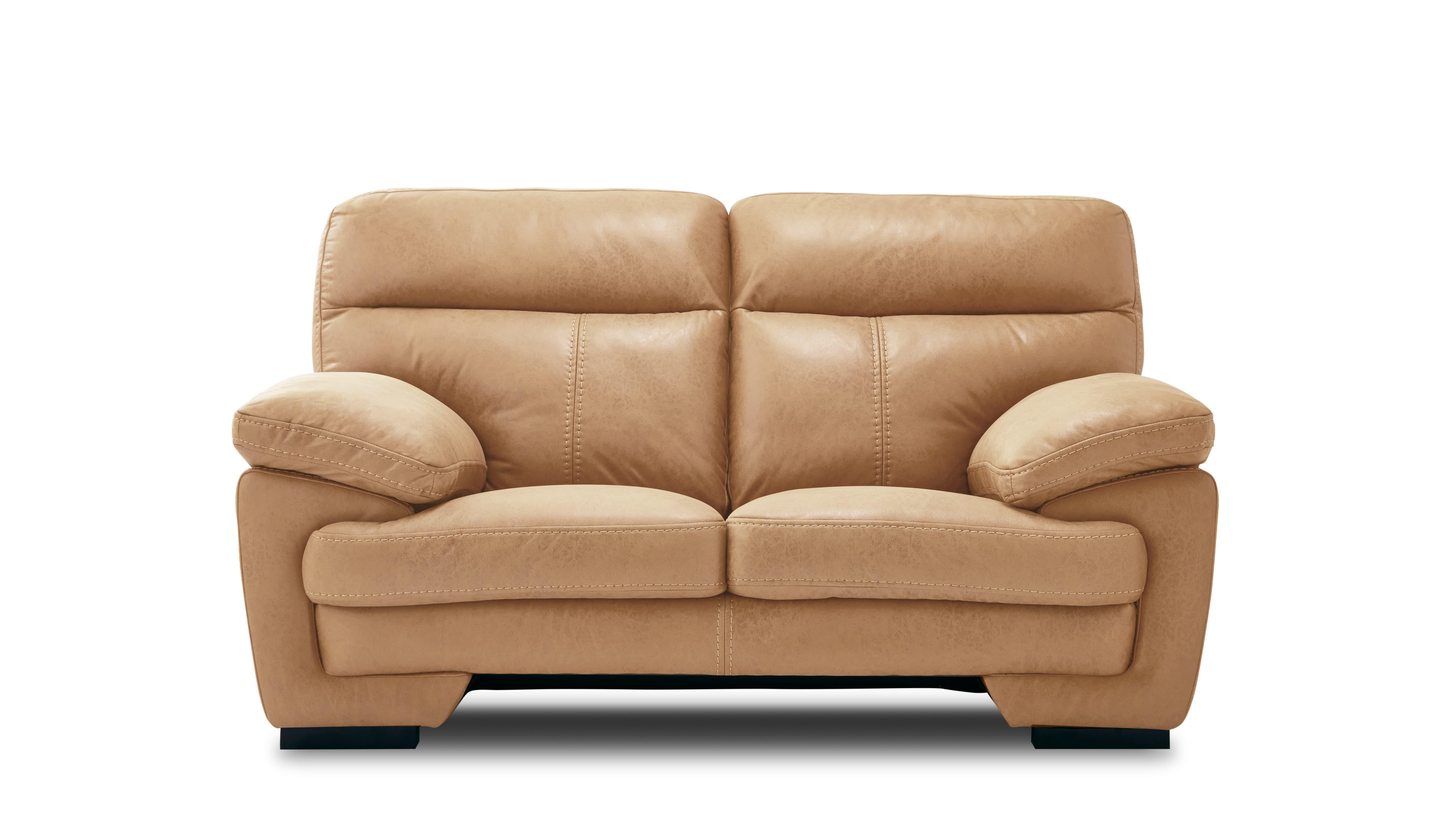 2人掛けソファー イゾラ クラフトBE:◆新素材「レザーテックス」を使用したソファー