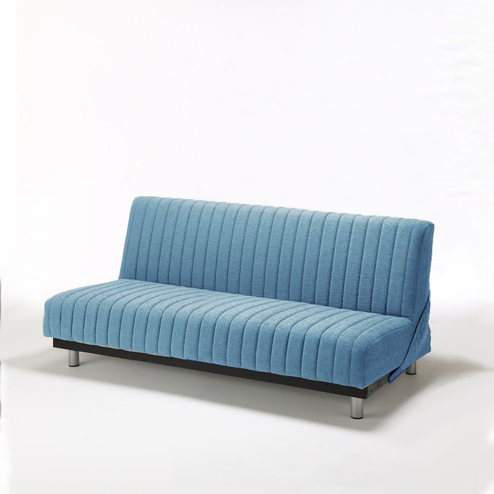 ソファベッド スイミーAg ショート ロー:高密度連続スプリングを使用で耐久性と寝心地も抜群です