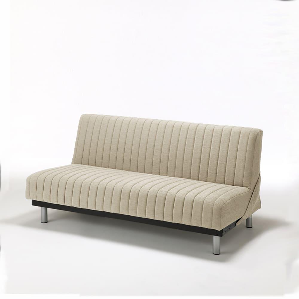 ソファベッド スイミーAg ショート ハイ:高密度連続スプリングを使用で耐久性と寝心地も抜群です