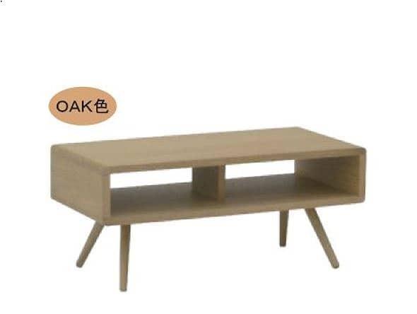 リビングテーブル ウッドグレイン ベスト95CT OAK:リビングテーブル