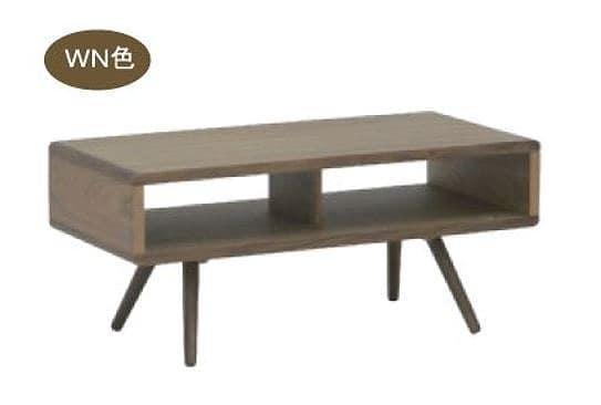 リビングテーブル ウッドグレイン ベスト95CT WN:リビングテーブル