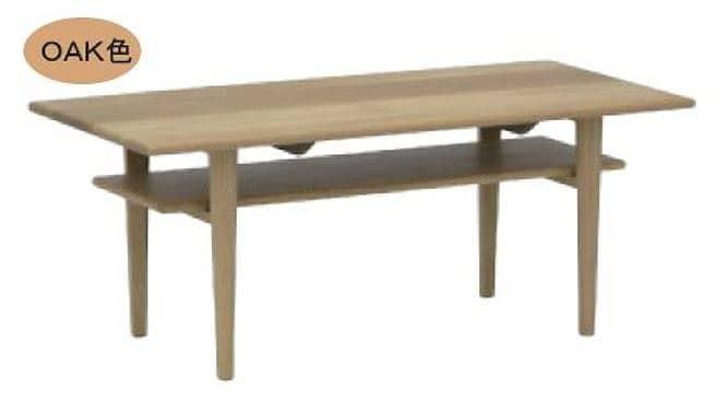 リビングテーブル ウッドグレイン オーサム105CT OAK:リビングテーブル