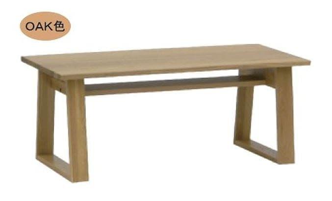 リビングテーブル ウッドグレイン ベーネ105CT OAK:リビングテーブル