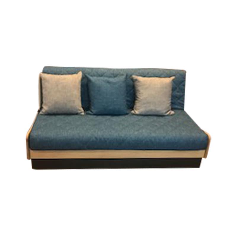 ソファベッド ドロシー 160 フレーム:NA/ファブリック:ブルー