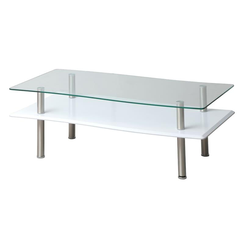 リビングテーブル GLT−2321 WHホワイト:リビングテーブル