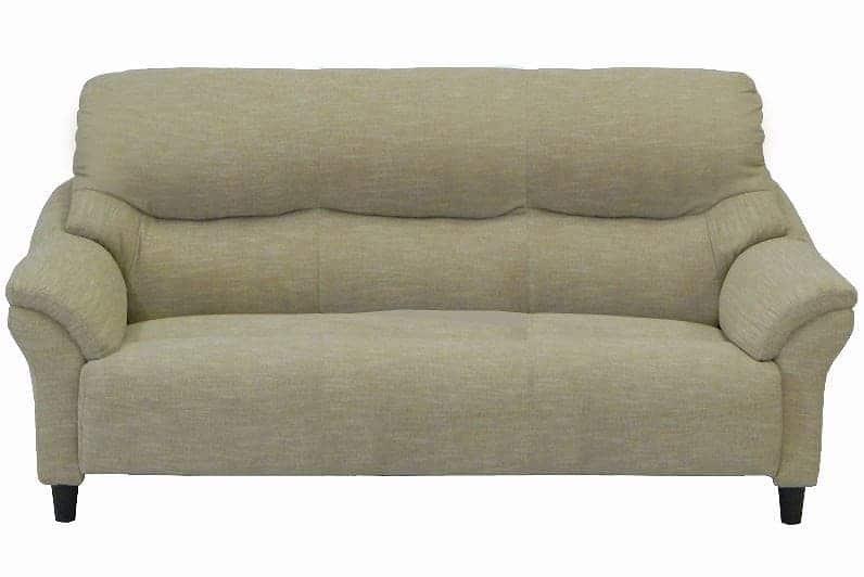 3人掛けソファー レマン�U 布・IV:《家族が集まるリビングにピッタリの優しい座り心地となっております》