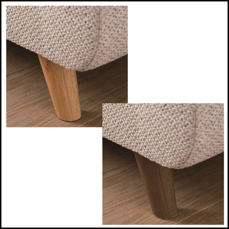 2.5人掛けソファー ヨーク 張地IV・脚NA:選べる脚部のカラーは2色から