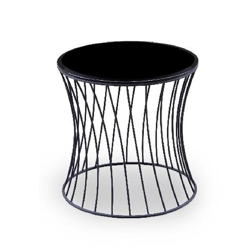 サイドテーブル タンブル ブラック:サイドテーブル