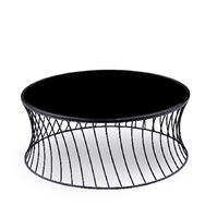 リビングテーブル タンブル ブラック