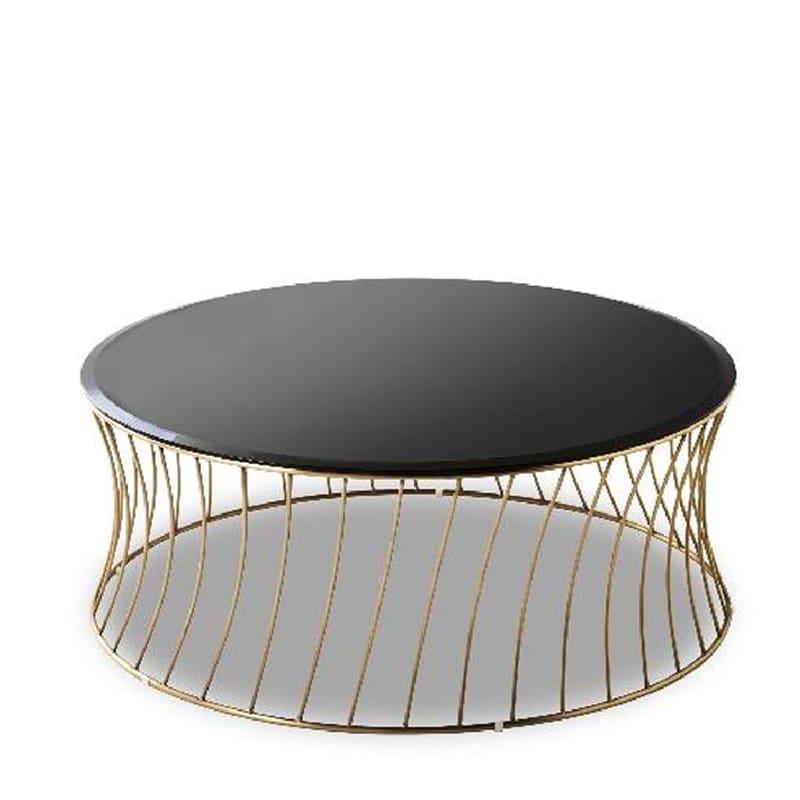 リビングテーブル タンブル ブラス:リビングテーブル