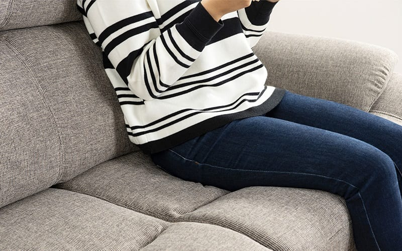 :硬すぎず柔らかすぎないちょうどいい硬さの座面