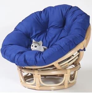 ペット用ハンギングチェア ペットラウンドチェア 81−0003−FS:包まれるような座り心地のペットリラックスチェア