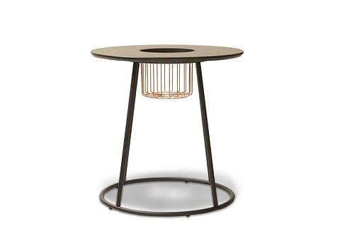 リビングテーブル ブトン テーブル 550 ブラック:リビングテーブル