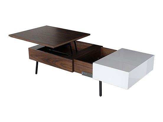 リビングテーブル モカ Tタイプ BR