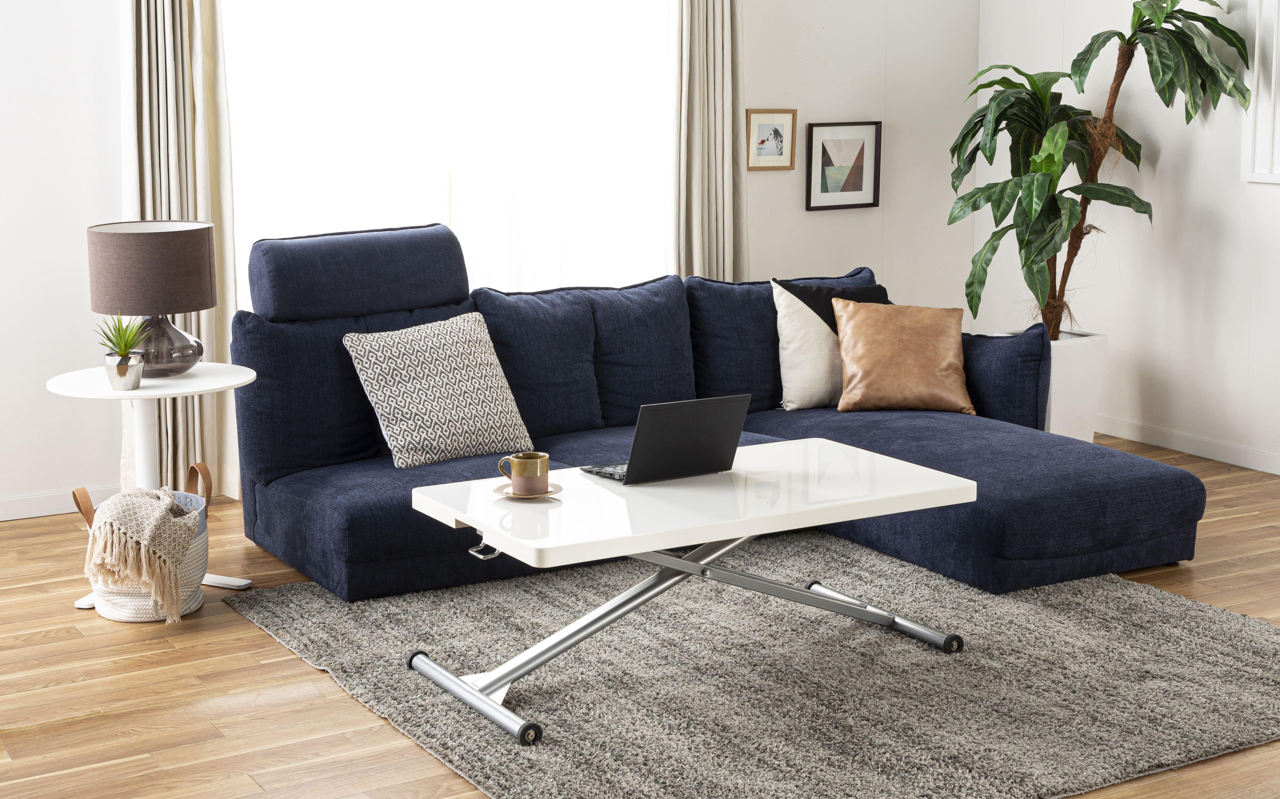 シェーズロングソファー LENO 【3点セット】 NB:自分だけのソファを作ろう!
