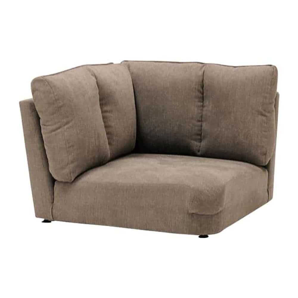 コーナーソファー LENO コーナー GRY:本格的な座面構造で仕上げ、座り心地を追求し仕上げました。