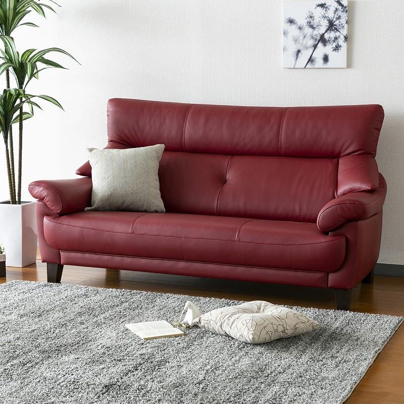 2.5人掛けソファ174 リジィLO HB531:◆素材やデザインにこだわった、高級感あふれるソファー