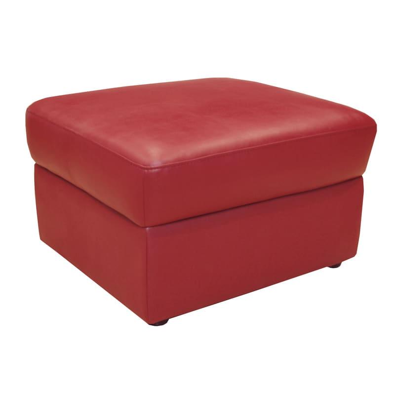 スツール デビュースツール RED(合皮RED):人気のデビューシリーズ!デビューシリーズのソファにおススメのスツールです。