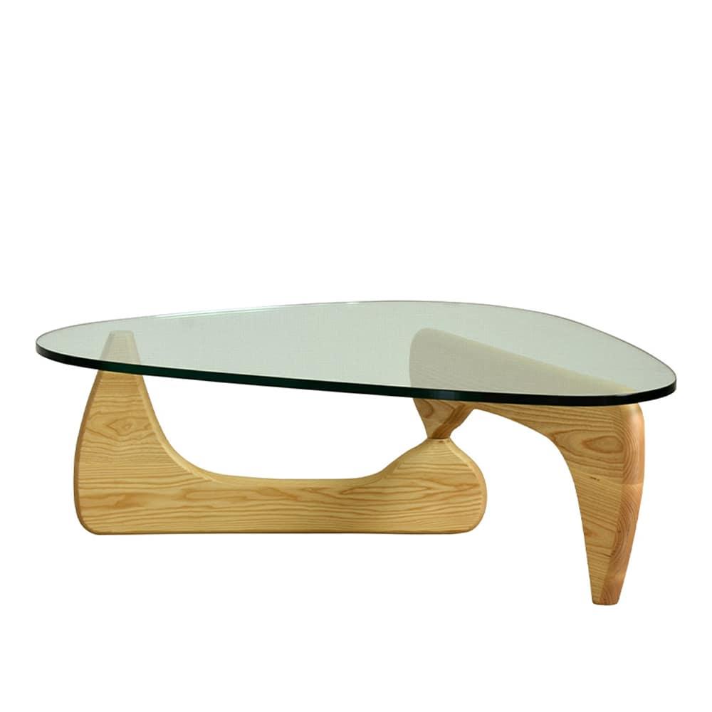 【リプロダクト】リビングテーブル ノグチテーブル NA:和モダンの代表的な商品でどんなソファたお部屋とも合わせやすい魅力あるデザイン。