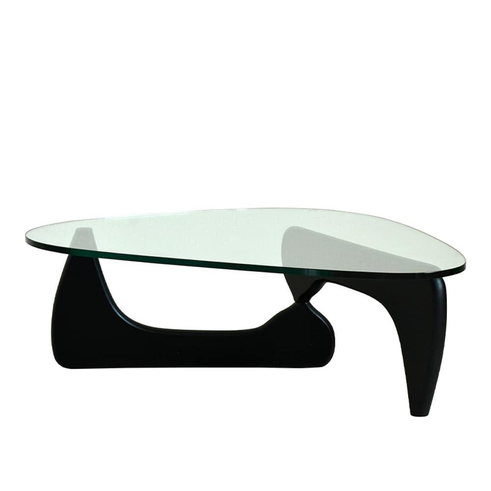 【リプロダクト】リビングテーブル ノグチテーブル BK:和モダンの代表的な商品でどんなソファたお部屋とも合わせやすい魅力あるデザイン。