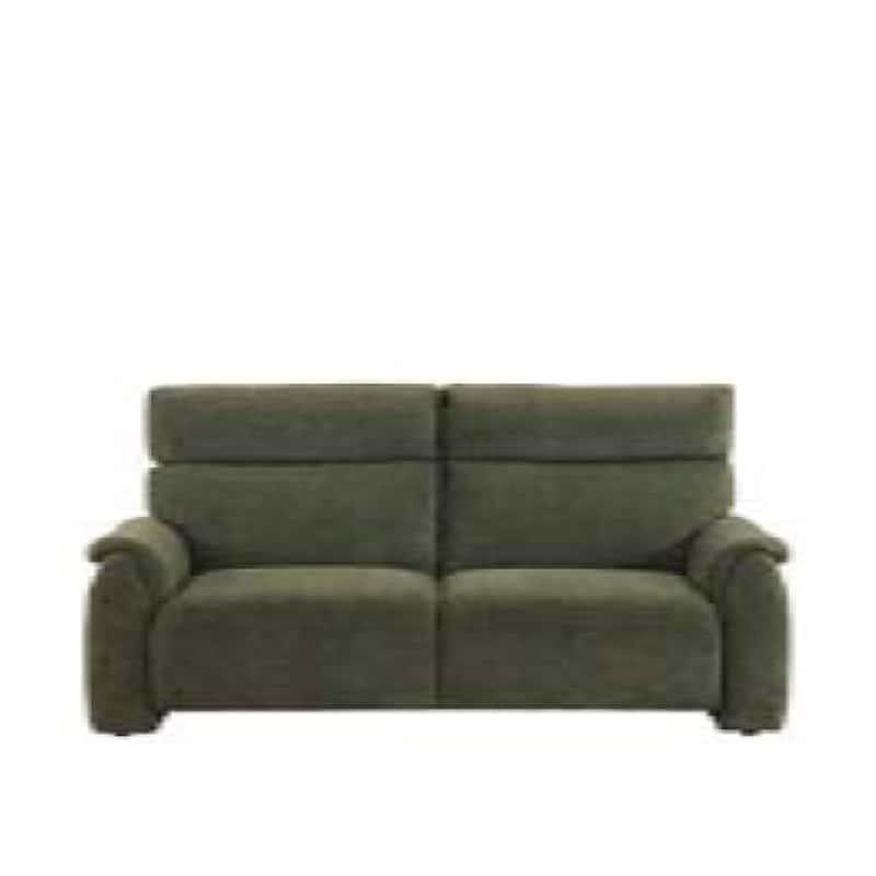 3人掛けソファ クラム GR:収納付きソファーでリビングを広々有効活用