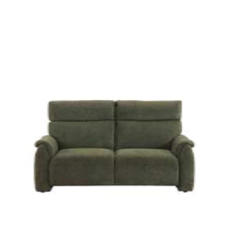 2人掛けソファ クラム GR:収納付きソファーでリビングを広々有効活用