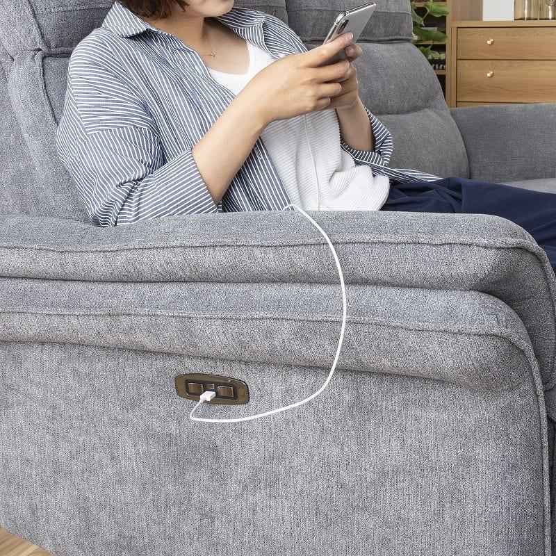 :USBポート付きスイッチ
