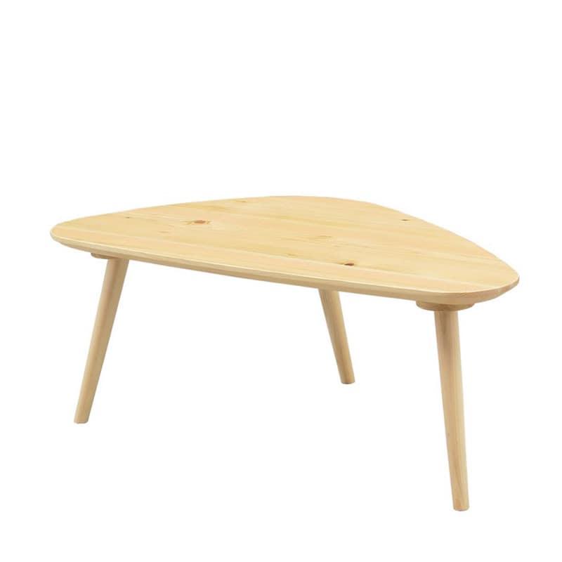 リビングテーブル 柚100センターテーブル LBR:国産ヒノキの優しさを最大限に活かしたテーブル