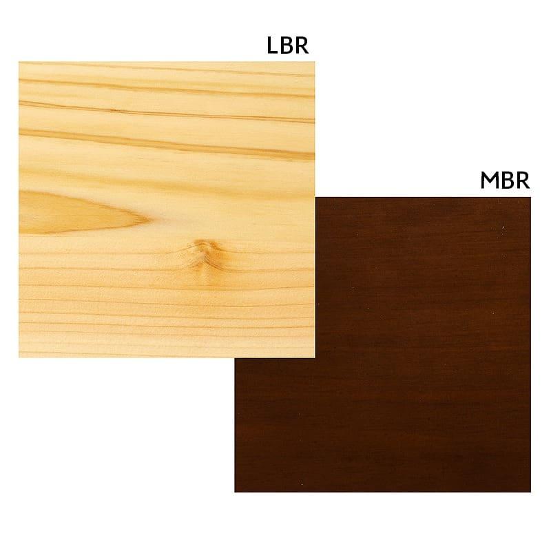 リビングテーブル 柚100センターテーブル MBR:選べる2色