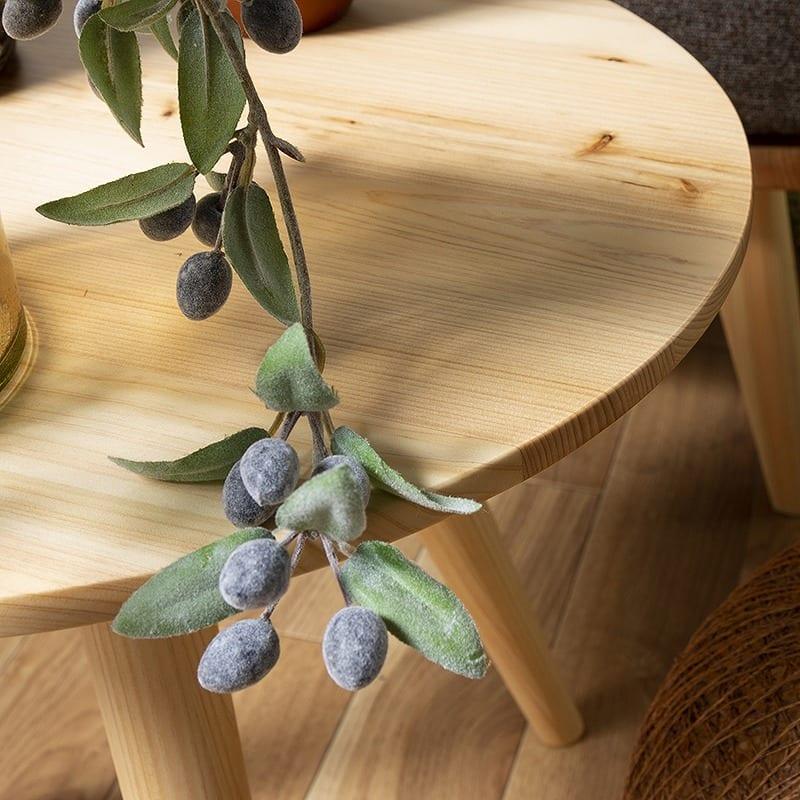 サイドテーブル 柚40サイドテーブル MBR