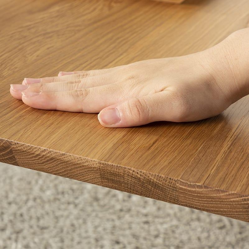 リビングテーブル ビスタ リビングテーブル120 OAK:心地よい肌触り