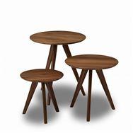 サイドテーブル トロワ�U サイドテーブル WN