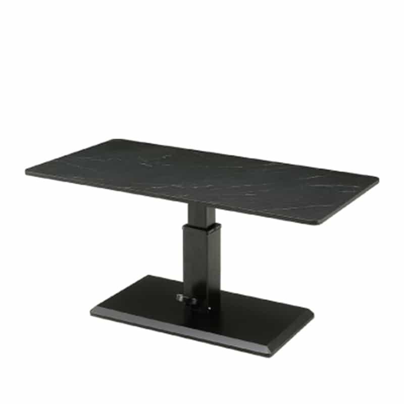 昇降式リビングテーブル ラディア BK