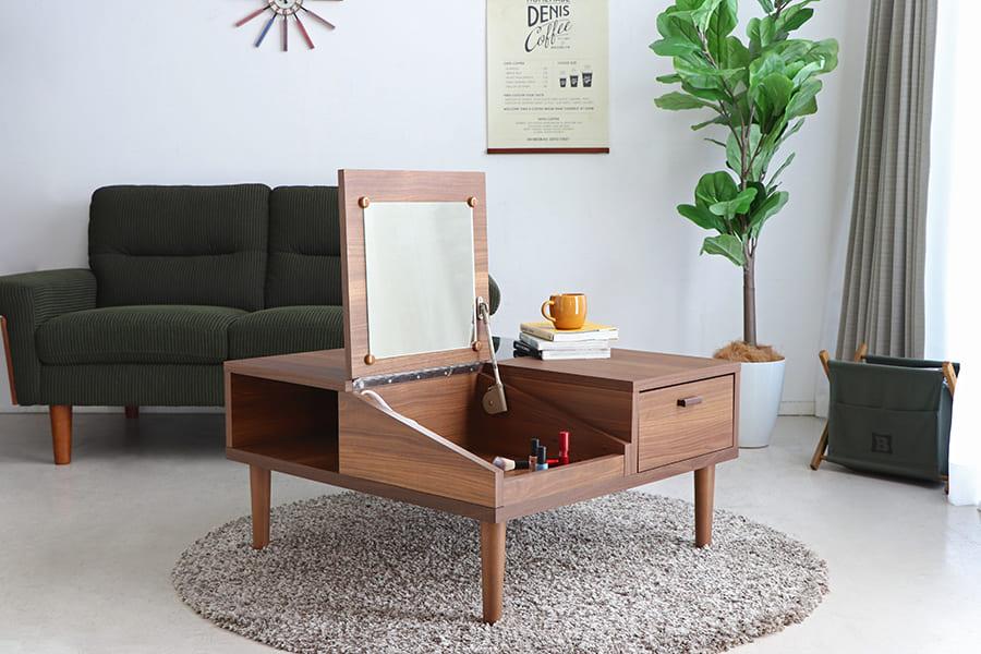 【ネット限定】 リビングテーブル エフィーノ ドレッサーテーブル:リビングテーブル エフィーノドレッサーテーブル