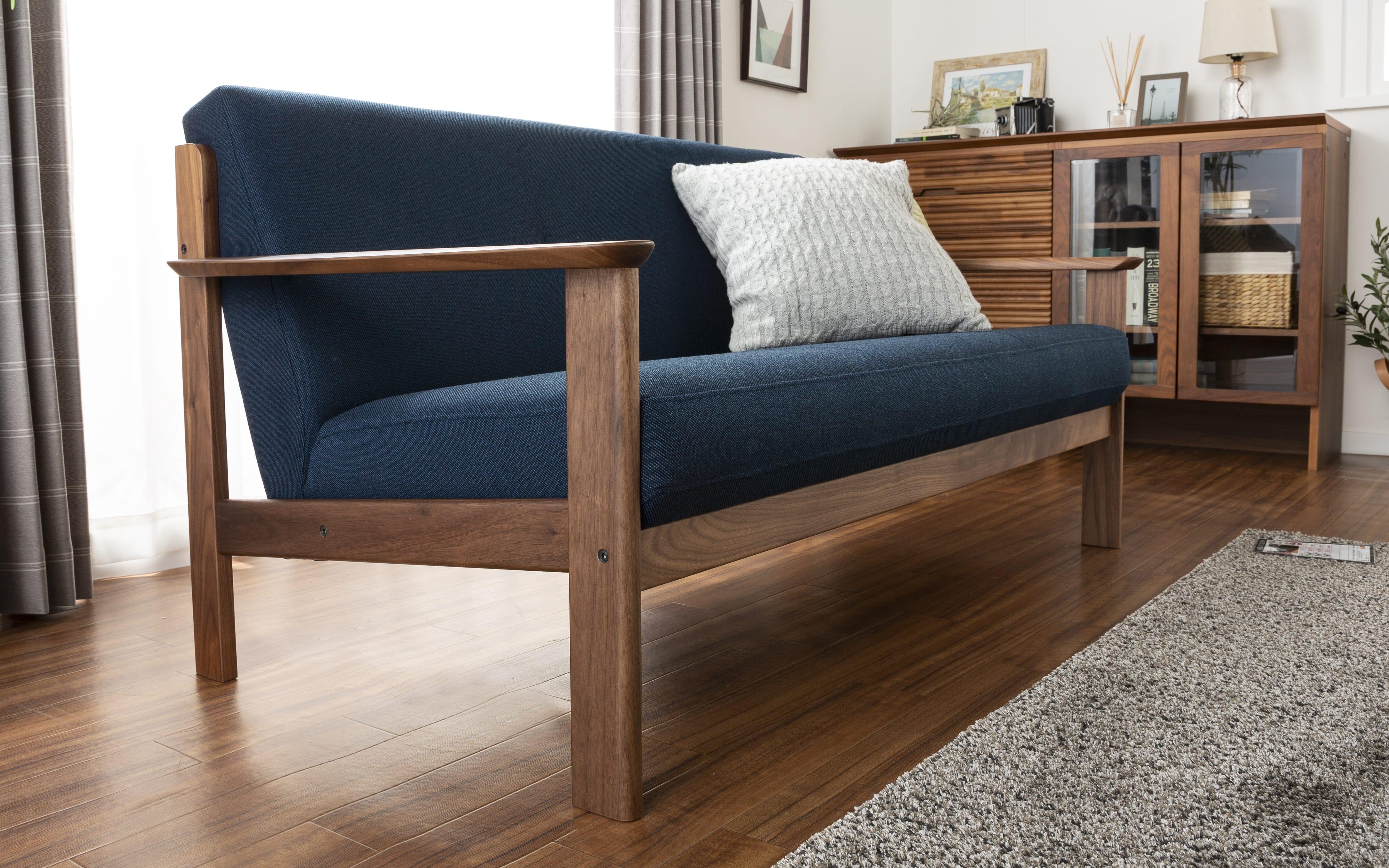 :存在感のあるソファ