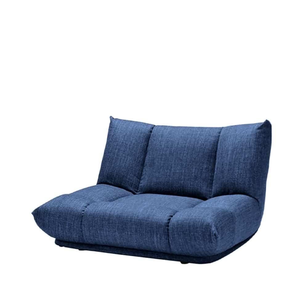 1人掛けソファ GR/レイナ ローバック NB:身体を預けて座れるしっかりとした座り心地