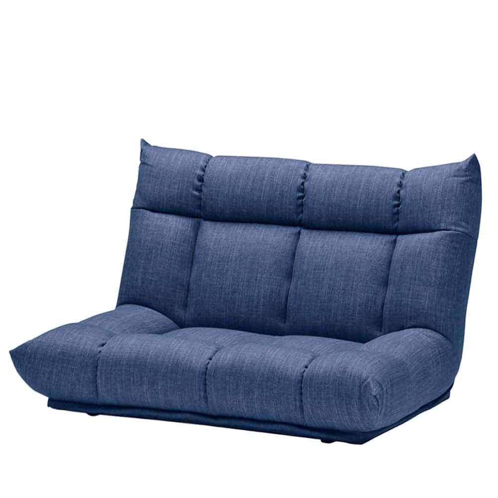 2人掛けソファ GR/レイナ ハイバック NB:身体を預けて座れるしっかりとした座り心地