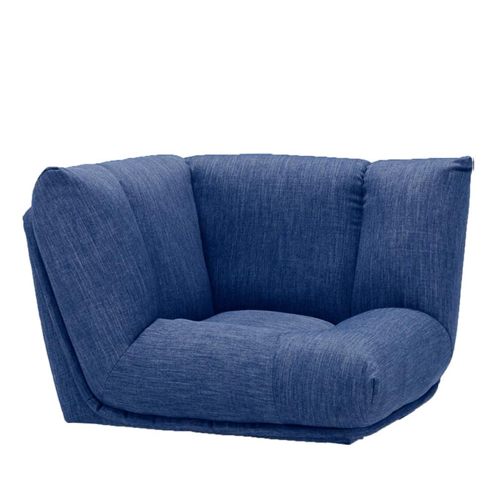 コーナーソファー GR/レイナ NB:身体を預けて座れるしっかりとした座り心地