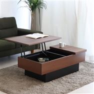 リビングテーブル コシェル リフトテーブル BR