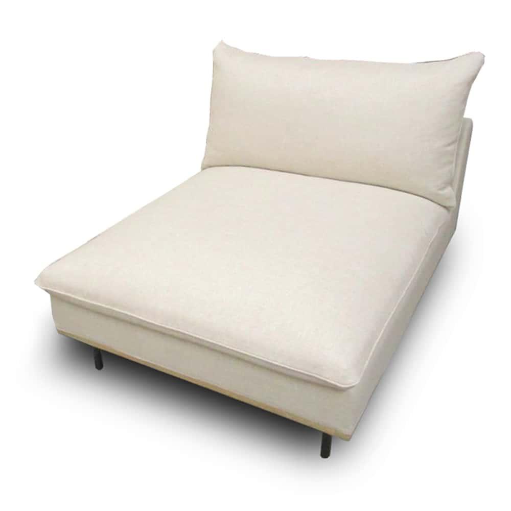 肘無1.5人掛けカウチソファ アイナ 肘無(COUNA)ハードタイプ AGP−IV:お部屋やお好みに合わせて組み合わせができるソファです。