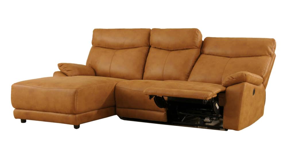 モーション付シェーズロングソファ アストラRシェーズモーション付FBCA:座面はポケットコイル仕様でソフトな座り心地です。