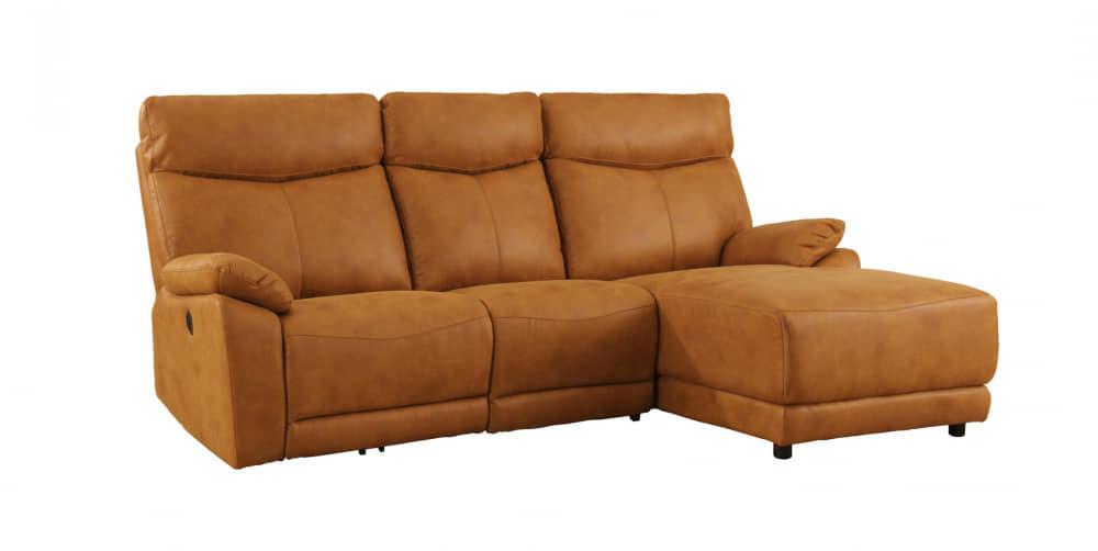 モーション付シェーズロングソファ アストラSLシェーズモーション付FBCA:座面はポケットコイル仕様でソフトな座り心地です。
